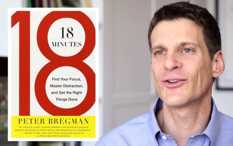 18 minutes and Peter Bregman
