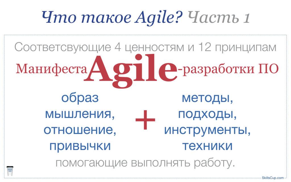 SkillsCup.com - Что такое Agile