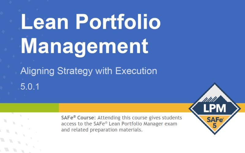 SAFe Lean Portfolio Management 5-0-1